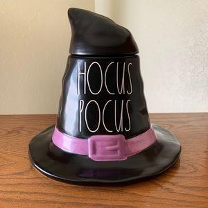 Rae Dunn Hocus Pocus Halloween Hat Canister